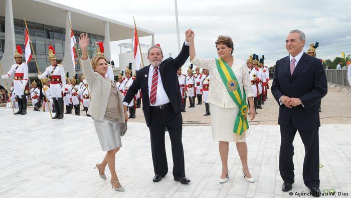 Brasilien Brasilia - Amtseinführung von Dilma Rousseff (Agência Brasil/W. Dias)