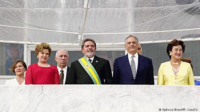 Brasilien Brasilia - Amtseinführung von Lula da Silva 2003 (Agência Brasil/M. Casal Jr.)