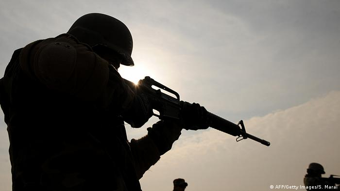 M16-rifle (AFP/Getty Images/S. Marai)