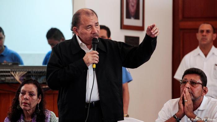 Nicaragua Unruhen Dialog Daniel Ortega (Reuters/O. Rivas)