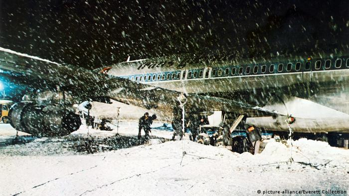 Imagen de la película Aeropuerto.