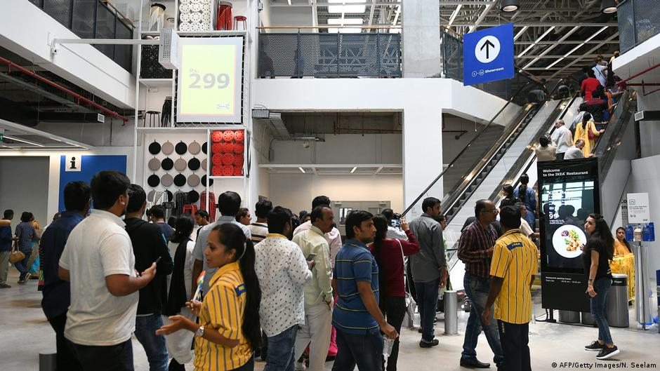 first indian ikea store opens in hyderabad business. Black Bedroom Furniture Sets. Home Design Ideas