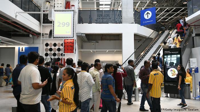 Köttbullar und Billy für Ikea-Indien | Wirtschaft | DW | 09.08.2018
