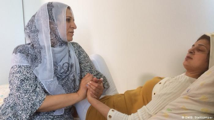 Mariam Al Abdullah Alremmo und Aisha Daboul