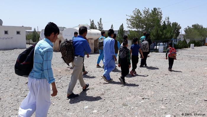 Iran afghanische Flüchtlinge (DW/S. Shokran)