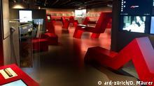 Ein Raum im Schweizer Finanzmuseum
