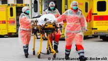 Bundeswehr bringt ukrainische Verwundete