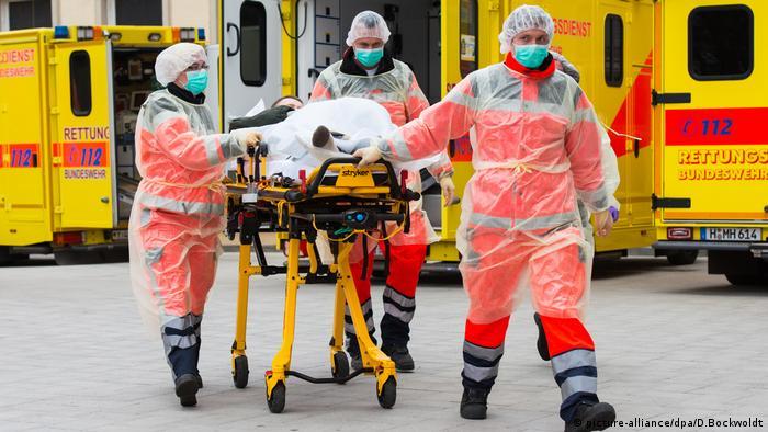 5 лікарень Бундесверу готові приймати хворих на COVID-19