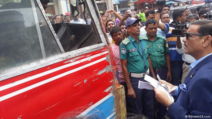 Bangladesch Obaidul Quader (Bdnews24.com)
