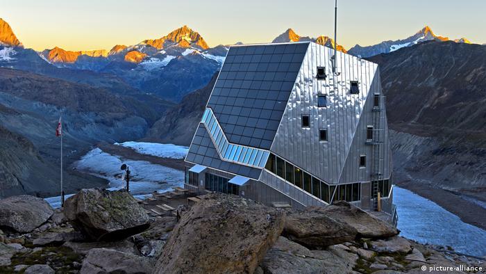 Отель Монте-Роза в Альпах