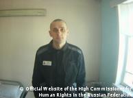 Олег Сенцов в ув'язненні (архівне фото)