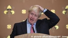 Boris Johnson speech on terrorism. Foreign Secretary Boris Johnson speaking about terrorism at the Foreign Office in London. Picture date: Thursday December 7, 2017. His speech comes after Prime Minister Theresa May rowed with United States president Donald Trump over his sharing on Twitter of anti-Muslim videos posted by far-right group Britain First. See PA story POLITICS Johnson. Photo credit should read: Victoria Jones/PA Wire URN:34041424 |