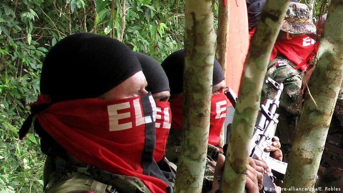 Kolumbien, Fortul: Guerilla Gruppe 'Ejercito de Liberacion Nacional'