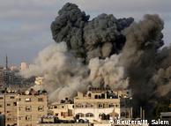 Удары Израиля в ответ на обстрелы из сектора Газа