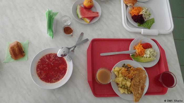 Обед на ЧАЭС