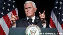 USA, Washington: Mike Pence