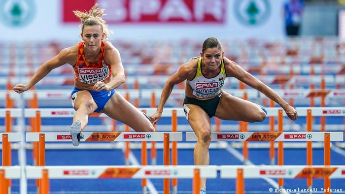 Deutschland, Berlin: EM - Leichtathletik (picture-alliance/U. Pedersen)