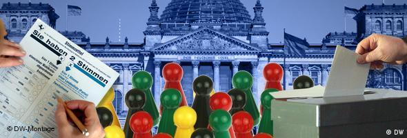 Bildserie Schwerpunktthema Bundestagswahl