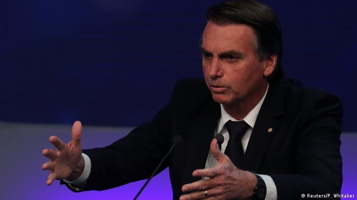 TV-Duell Präsidentschaftskandidaten Brasilien (Reuters/P. Whitaker)