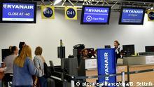 Ryanair-Streik Flughafen Schönefeld