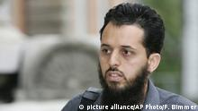 Terrorhelfer Mounir al-Motassadeq (picture alliance/AP Photo/F. Bimmer)