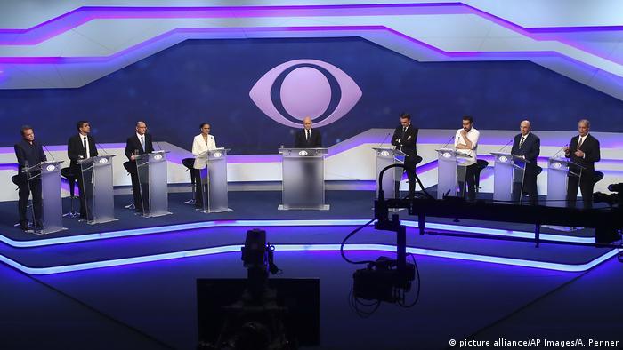 Primeiro debate dos presidenciáveis tem tom morno