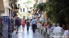 Strassencafe in Athen