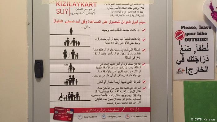 Türkei Syrische Flüchtlinge und Integrationskurse in Istanbul