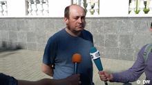 Weißrussland Minsk Freilassung von DW Korrespondent Pavljuk Bykovski