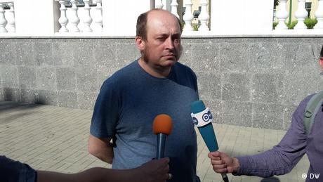 У Білорусі відпустили кореспондента DW Павлюка Биковського