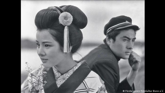 film still, two japanese people (Förderverein Filmkultur Bonn e.V.)