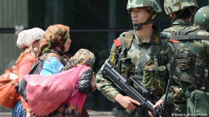 China Ethnie der Uiguren