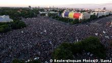 Rumänien Bukarest Proteste gegen Regierung