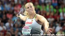 European Championships Speerwurf in Berlin Leichtathletik Christin Hussong