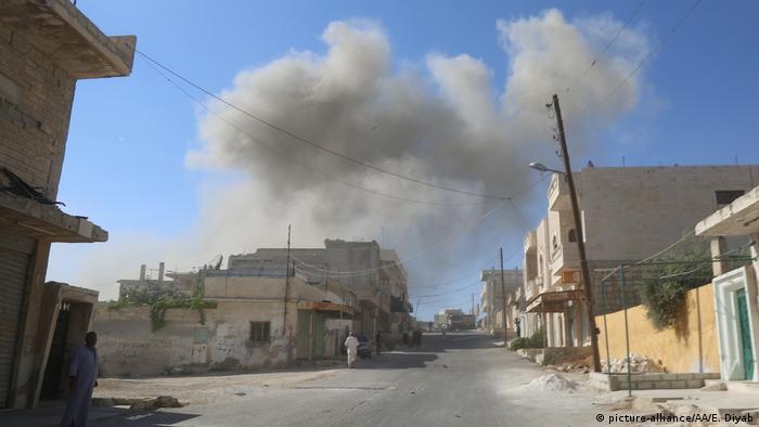 Syrien Luftangriffe in Idlib