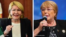 Kombobild Luisa Ortega und Michele Bachelet