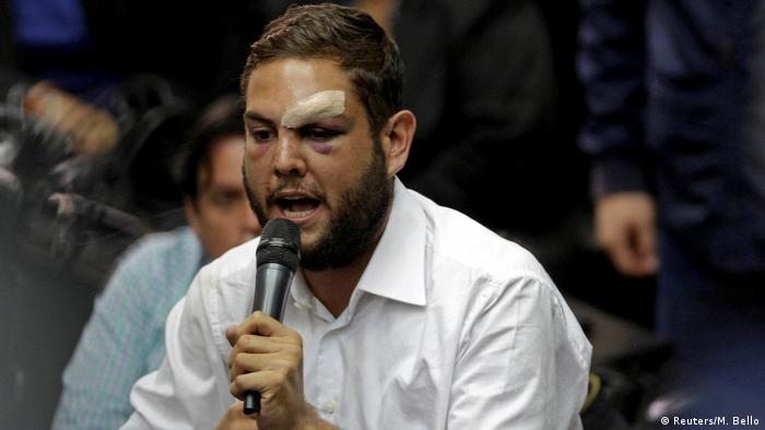 Venezuela Juan Requesens, Opposition (Reuters/M. Bello)