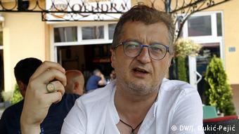 Serbien Reportage aus dem Preševo-Tal   Belgzim Kamberi, Journalist und Menschenrechtler (DW/J. Đukić-Pejić)