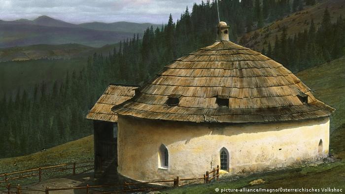 Хижина пастуха Гриллича в Альпах