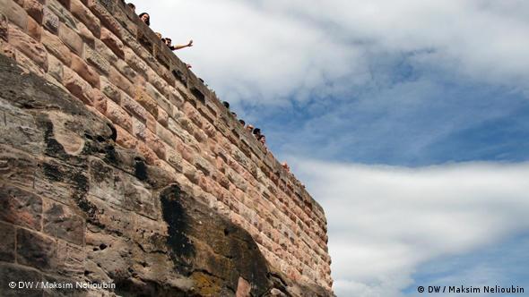 Смотровая площадка в Императорской крепости (Kaiserburg). Более подробно об этой достопримечательности мы расскажем в отдельном репортаже ''Прогулок по Нюрнбергу''