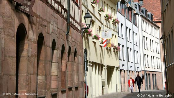 Улица Агнесгассе (Agnesgasse) в Старом городе