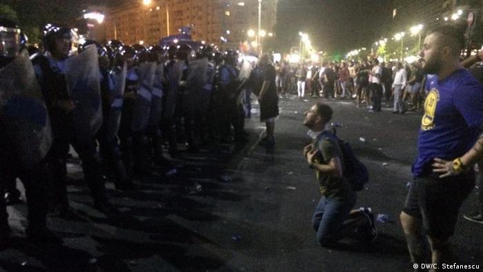 Protestele din Bucuresti, 10.08.2018