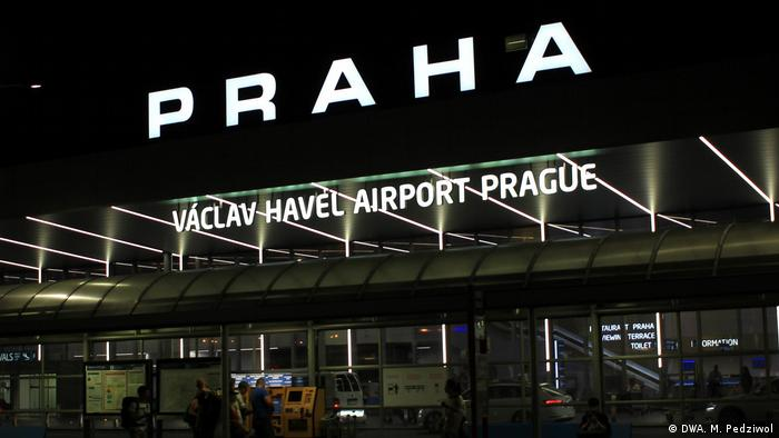 The main Czech airport has been renamed in honor of Vaclav Havel
