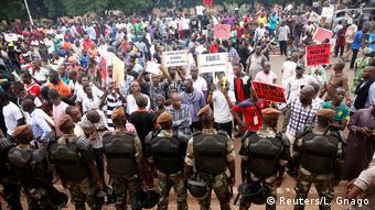 Mali Amtsinhaber Keita Favorit bei Präsidentenstichwahl (Reuters/L. Gnago)