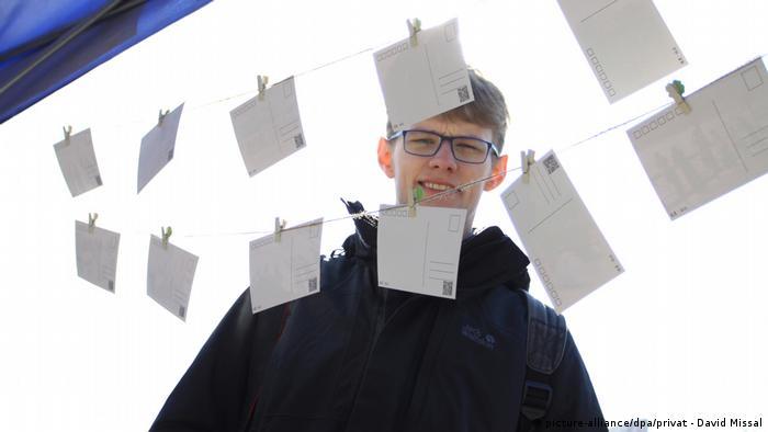 German journalism student David Missal