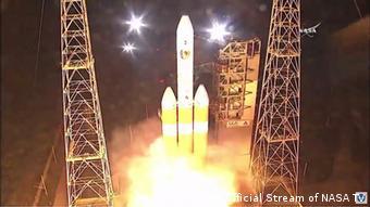 Foguete decolou com a sonda a bordo a partir da base de Cabo Canaveral, na Flórida