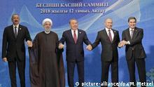 Kaspischer Gipfel in Kasachstan