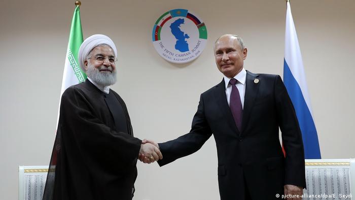 Kaspischer Gipfel in Kasachstan (picture-alliance/dpa/E. Seydi)