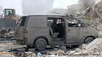 Syrien Idlib Explosion eines Waffenlagers
