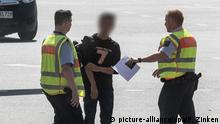 Abgeschobener Asylbewerber wieder in Deutschland